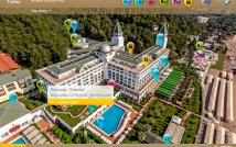 Интерактивная карта отеля Amara Dolce Vita