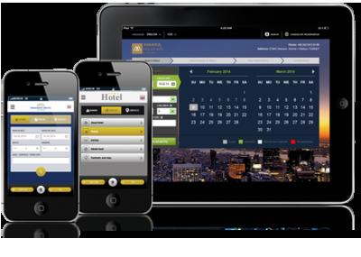 Мобильный сайт для гостиницы